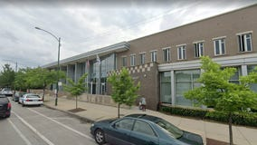Man shot near Chicago police station