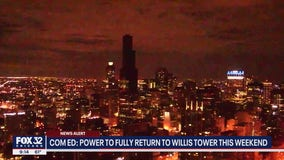 Power at Willis Tower to be fully restored this weekend, ComEd says