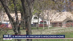 Illinois construction workers traveling to Wisconsin to work on Pritzker's farm amid stay-at-home order