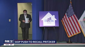 Illinois lawmaker pushing for ballot referendum that would let voters remove Pritzker from office