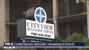 Town of Cicero sues Pritzker, others over COVID-19 outbreak at nursing home