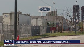 Chicago's Ford plant reopening Monday with new safety measures