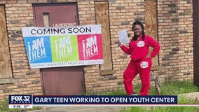 Indiana teen working to open youth center to help those in despair
