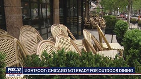 Chicago restaurant owners disappointed after mayor says no to outdoor dining