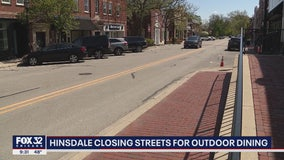 Hinsdale considering closing downtown street for outdoor dining to help businesses