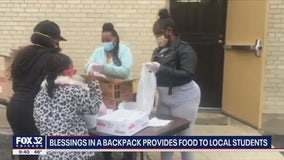 'Blessings in a Backpack' provides food to Chicago students amid coronavirus pandemic