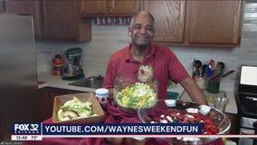 Fresh summer salads with Wayne's Bites