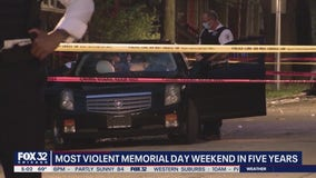Chicago sees deadliest Memorial Day weekend in years: 10 fatally shot, 39 wounded