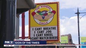 The Wieners Circle changes sign to make statement following George Floyd's death