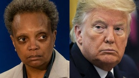 Lightfoot blames Trump for standoff between city's public schools and teachers union