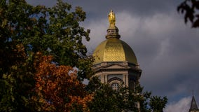Two Notre Dame students killed in car crash