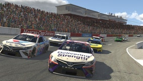 Denny Hamlin wins NASCAR iRacing Series with victory at throwback North Wilkesboro Speedway