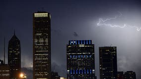Stronger storms to hit Chicago Thursday evening; risk of 'ping-pong' size hail in south burbs