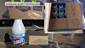 Fake or diluted cleaning supplies, coronavirus test kits and medicine flood US borders