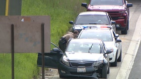 12 people injured in crash on Eisenhower on Near West Side