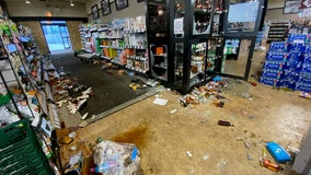 Looters vandalize five locations of Binny's Beverage Depot