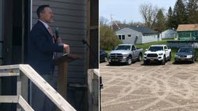 New York pastor threatened with $1,000 fine for holding drive-in church service
