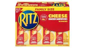 Ritz Cheese Cracker sandwiches recalled after peanut butter variety was discovered inside