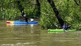 Kayakers missing in Des Plaines River in Riverside found safely