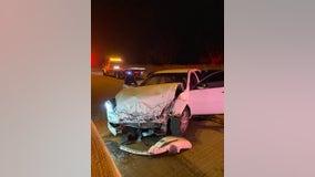 Woman killed in vehicle crash on I-80/90 near Gary