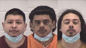 Trio charged after police chase from Aurora to Oswego