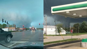 Severe storms, possibly tornadoes sweep through Illinois
