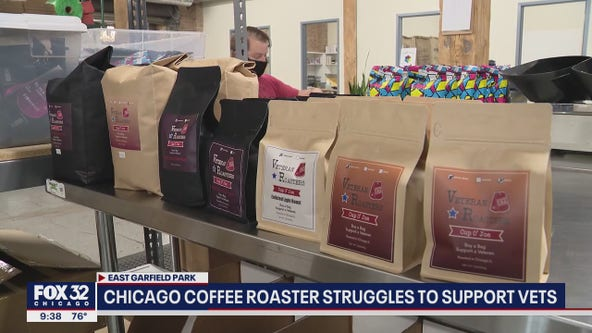 Coronavirus forces Chicago coffee business that hires veterans to lay them off instead