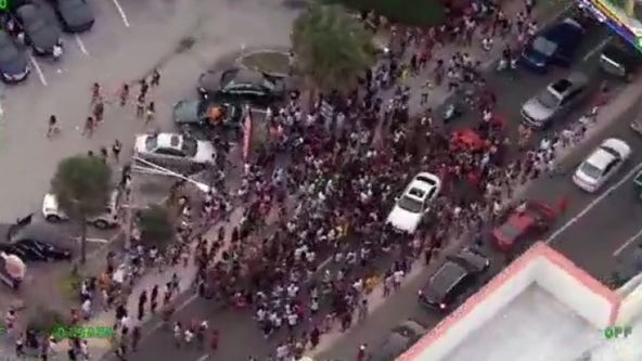 'They're clearly throwing cash at the crowd': Massive crowd spotted in Daytona Beach on Memorial Day weekend