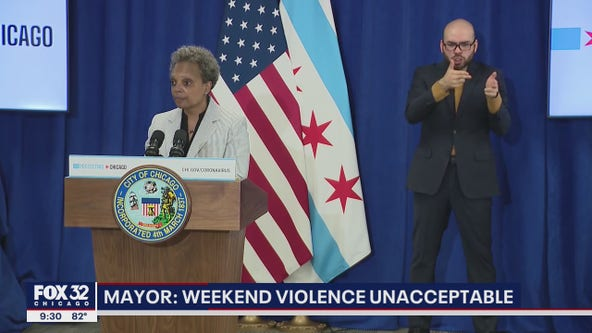 Chicago mayor on weekend gun violence: 'Whatever the strategy was, it didn't work'