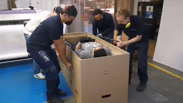 Company creates hospital bed that converts into a coffin amid the COVID-19 pandemic