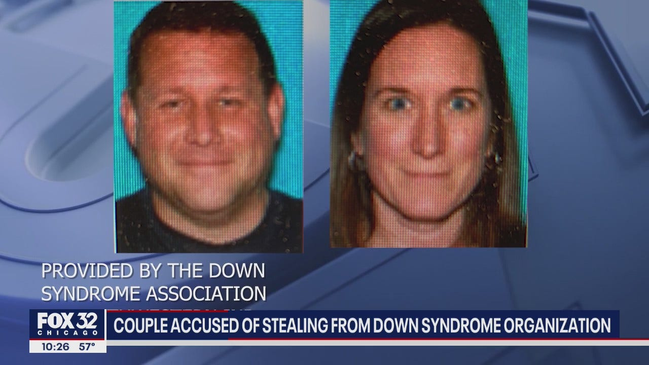 Husband and wife stole $100k from Down syndrome ...