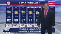 10 p.m. forecast for Chicagoland on June 2