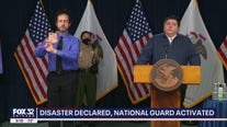 Gov. Pritzker issues disaster proclamation for 9 counties as unrest continues