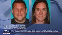 Husband and wife stole $100k from Down syndrome organization, group says
