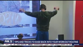 Tips and tricks to ease back into your workout routine