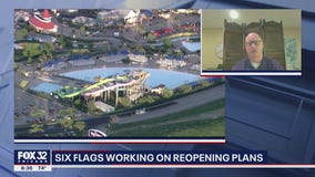 Six Flags Great America outlines reopening plans, safety protocols