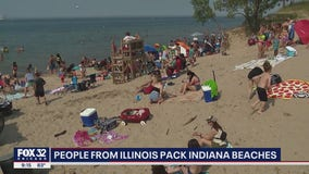 Because of COVID-19, Indiana beaches are the new summer spots for Illinoisans