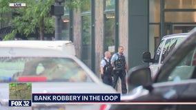 SWAT team responds to Loop bank robbery; suspect in custody