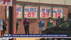 South Side residents worried about food, medicine availability after looting