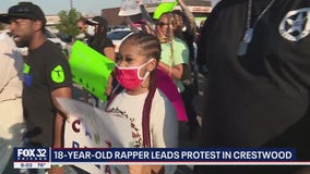 Local rapper leads protest in suburbs: 'Everyone needs to help contribute to a change'
