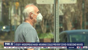 Widespread mask-wearing could stifle second wave of COVID-19: study