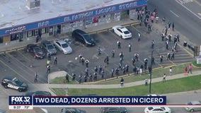 2 killed, over 60 arrested in Cicero as protests turn violent