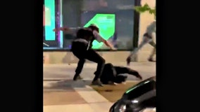 Video shows Chicago police officer chasing down, punching protester