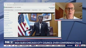 BGA sues Chicago City Council over private conference calls