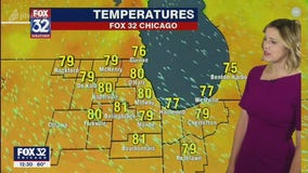Afternoon forecast for Chicagoland on June 16th