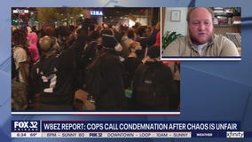 Chicago police speak out against lack of leadership during chaotic protests