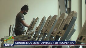Illinois officially begins Phase 4 of reopening plan