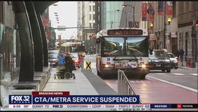 CTA service resumes, but remains suspended downtown