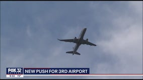 New push for 3rd airport in south suburbs of Chicago