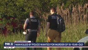 Murder suspect shot dead by police after opening fire on officers in Beach Park